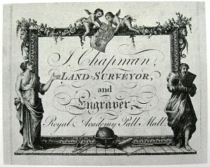 John Chapman's Trade Card (Image courtesy of Essex Record Office)